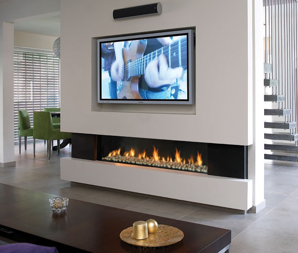 Cool Wall Fireplace Electric Room Design Decor Luxury At: Produkty Z Kategorii: Kominki Gazowe